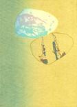 シリーズ » Münchner Stein (ミュンヘン ノ 石) 5 « 2010、リトグラフ、手漉き紙、53 x 38 cm、ユニークプリント