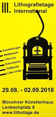 III. Lithografietage International 2018 / Münchner Künstlerhaus