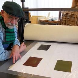 Workshop für Phototiefdruck auf Solar-Platte