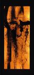 シリーズ » Amber (琥珀) 3 « 2003、リトグラフ、和紙、木材、豆電球、113 x 52 x 6.5 cm