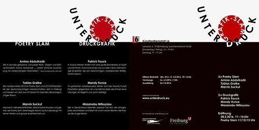 UNTER DRUCK / Künstlerwerkstatt L6