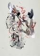 » 向 (The Direction) 4 « 2002, Monotype on Handmade Paper, 75 x 56 cm, Unique Print
