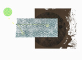 » ohne Titel « 2013, Lithographie und Linolschnitt auf Büttenpapier, 56 x 76 cm, Aufl. 4