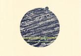 シリーズ » am See (湖デ) 2 « 2015、銅版画、リノカット、手漉き和紙、40 x 60 cm、ユニークプリント