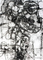 » ohne Titel (Untitled) « 2001, Lithography and Chine Colle (Ganpi) on Handmade Paper, 70 x 50 cm, Edition 4