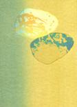 シリーズ » Münchner Stein (ミュンヘン ノ 石) 3 « 2010、リトグラフ、手漉き紙、53 x 38 cm、ユニークプリント