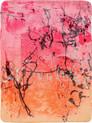 » Umarmung im September « 2007, Lithographie auf Büttenpapier, 50 x 36 cm, Aufl. 13