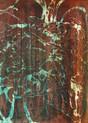 » Oktober Traum 1 « 2010, Lithographie und Monotypie auf Büttenpapier, 53 x 38 cm, Unikat