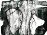 » ohne Titel « 2011, Lithographie auf Büttenpapier, 53 x 75 cm, Aufl. 4
