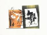 » ohne Titel « 2013, Lithographie auf Büttenpapier, 56 x 76 cm, Aufl. 4