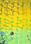 Serie » Ich tanze mit ihm « 2009, Lithographie, Monotypie, Linolschnitt und Nitrodruck auf Druckpapier, 73 x 53 cm, Unikat