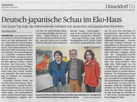 Zwischen Düsseldorf und Tokyo3+ 1 Position / Eko-Haus der japanischen Kultur
