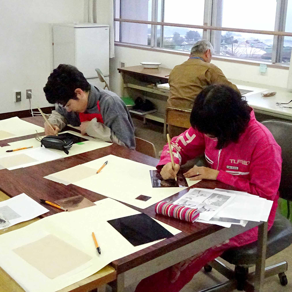 Etching Workshop / Art Village Shirakino