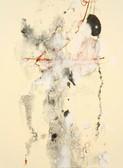 Serie » Acid Face 4 « 2002, Monotypie auf Büttenpapier, 38 x 28 cm, Unikat