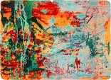 » Frühlingsfreude (Spring Joy) « 2006, Lithography on Handmade Paper, 67 x 93 cm, Edition 4
