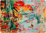 » Frühlingsfreude « 2006, Lithographie auf Büttenpapier, 67 x 93 cm, Aufl. 4
