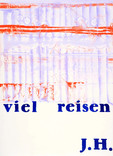 Series » Ich tanze mit ihm (I dance with him) « 2009, Monotype and Stamp on Print Paper, 73 x 53 cm, Unique Print