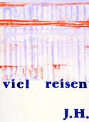 Serie » Ich tanze mit ihm « 2009, Monotypie und Stempel auf Druckpapier, 73 x 53 cm, Unikat