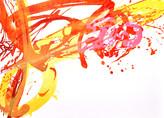 » Lufttanz « 2010, Lithographie auf Büttenpapier, 38 x 53 cm, Aufl. 7