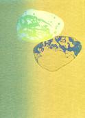 シリーズ » Münchner Stein (ミュンヘン ノ 石) 8 « 2010、リトグラフ、手漉き紙、53 x 38 cm、ユニークプリント
