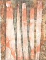 » Herbsterinnerung (秋 ノ 記憶) « 2010、リトグラフ、手漉き紙、65 x 50 cm, Edition 7