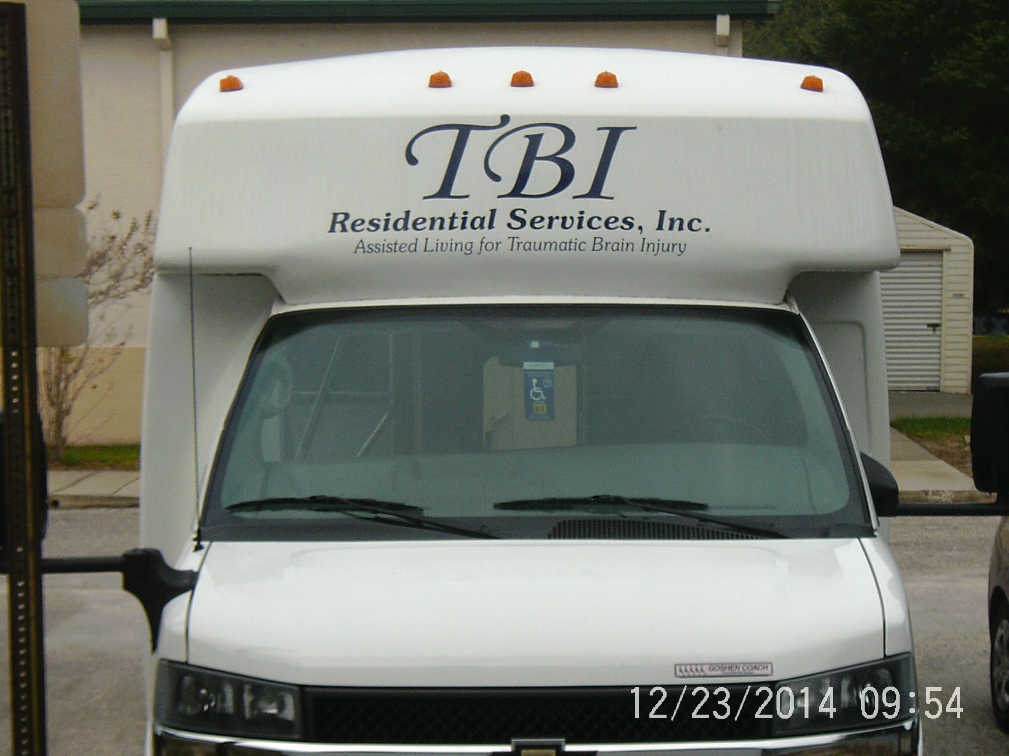 TBI shuttle bus