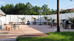 Our courtyards