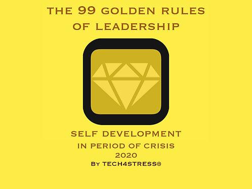 99 GOLDEN RULES by Tech4stress®