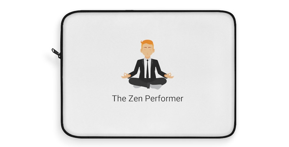 Laptop Sleeve of The Zen Performer