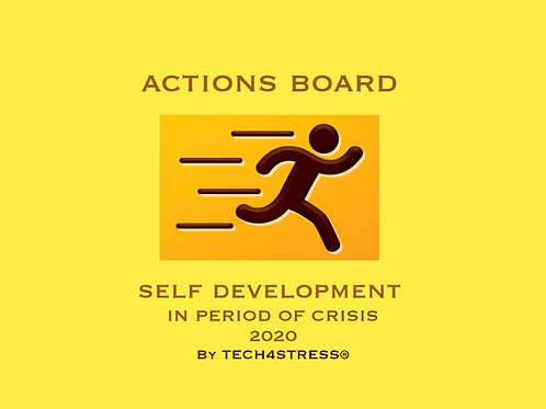 ACTIONS BOARD by The Zen Performer®