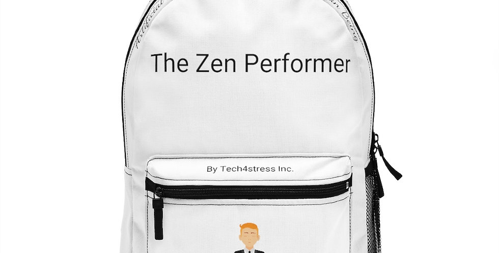 The Zen Performer Backpack (Made in USA)