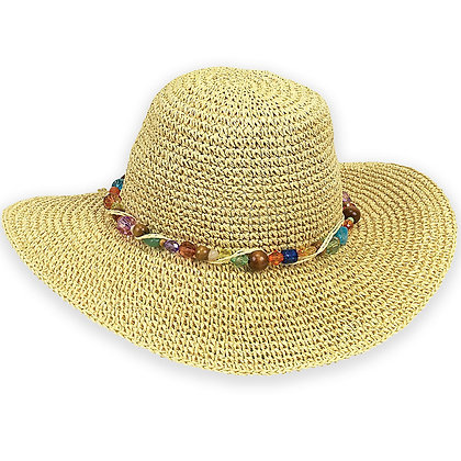 Sun N Sand Natural Crystal Bay Sun Hat