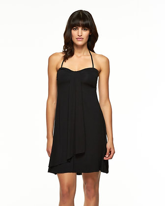 Skye Solid Black Diva Dress