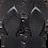 Thumbnail: Havaianas High Fashion Black Wedge Flip-Flops