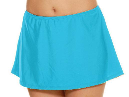 T.H.E. Plus Turquoise Swim Skirt