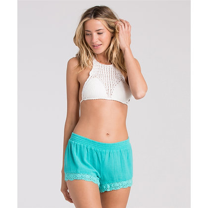 Billabong Jade Behind The Sun Crochet Shorts