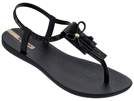 Ipanema Tassy Sandals in Black/Black