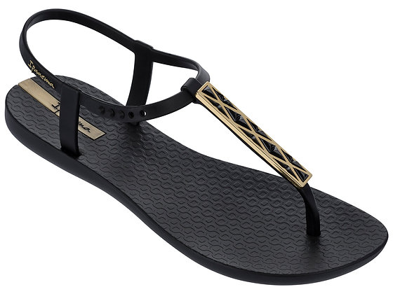 Ipanema Pietra Sandals in Black/Black