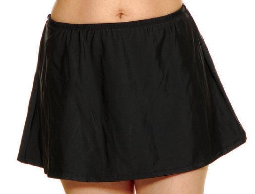 T.H.E. Black Swim Skirt