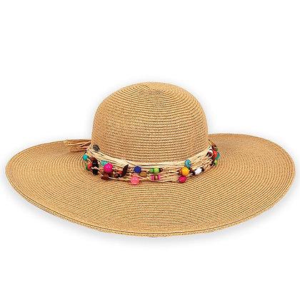Sun N Sand Natural Ocean Gems Sun Hat