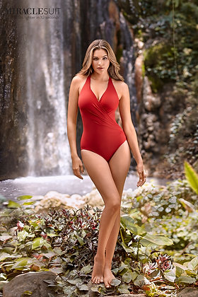 Miraclesuit Rock Solid Wrapsody One-Piece