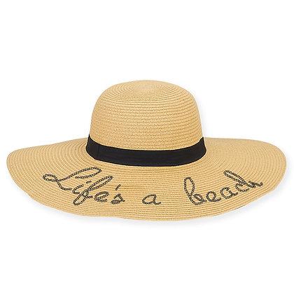 Sun N Sand Life's A Beach Sun Hat