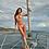 Thumbnail: PQ Swim Corona Del Mar Tie Dye Isla Triangle Top