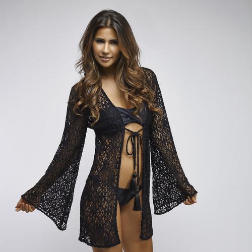5c03a0230c3b4 PilyQ Lace Diva Black Venus Tunic