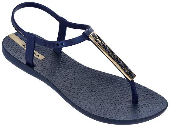 Ipanema Pietra Sandals in Navy/Gold