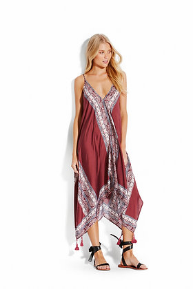 Seafolly Water Garden Paisley Scarf Dress