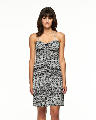 Skye Black Print Diva Dress