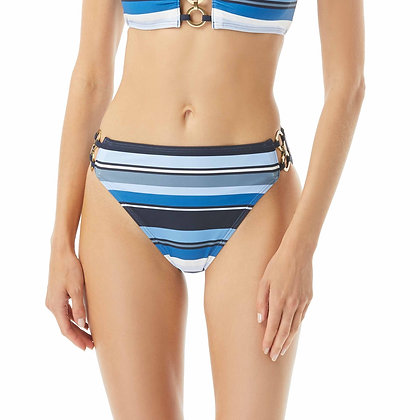 Michael By Michael Kors Large Stripe High Waist Bottom