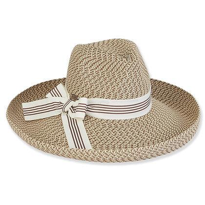 Sun N Sand Brown Sirena Sun Hat