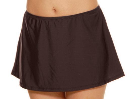 T.H.E. Brown Swim Skirt